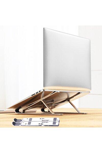 Taşınabilir Katlanabilir Folding Alüminyum Dizüstü Bilgisayar Standı