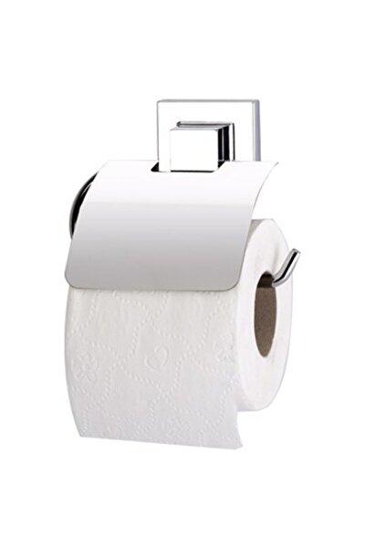 Yapışkanlı Metal Kapaklı Tuvalet Kağıtlık