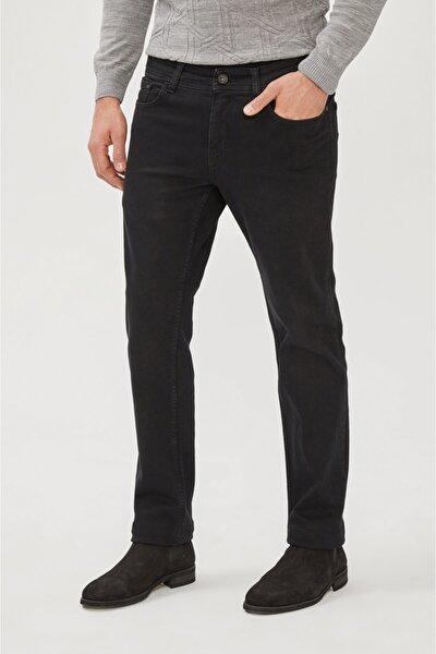 Erkek Siyah Regular Fit Jean Pantolon E003514