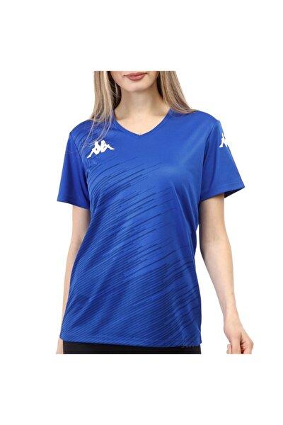 Kadın Saks Abuw Poly T-shirt