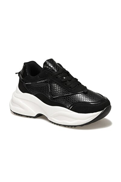 Vivien Siyah Kadın Fashion Sneaker