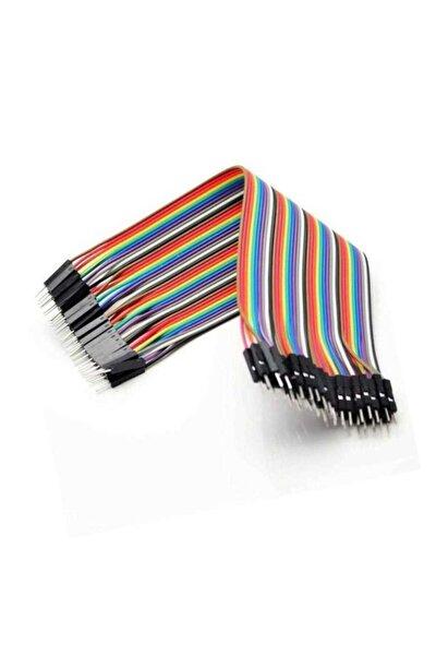 40 Pin Erkek Erkek 20cm Jumper Kablo