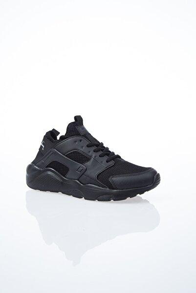 Kadın Günlük Spor Ayakkabı-Siyah PCS-10276