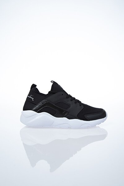 Kadın Günlük Spor Ayakkabı-Siyah-Beyaz PCS-10276