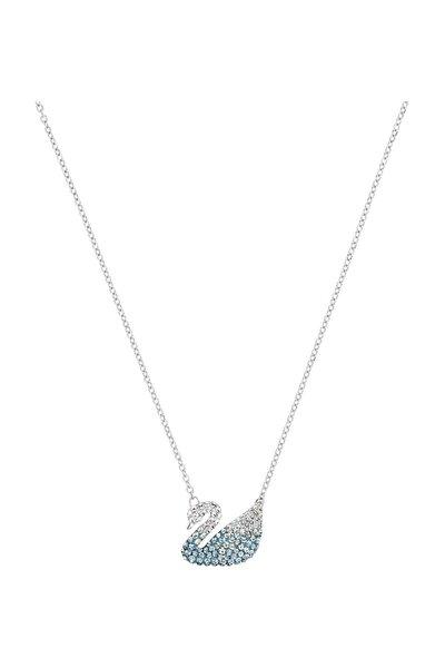 Kolye İconic Swan:Pendant Lmul/Rhs Blue 5512095
