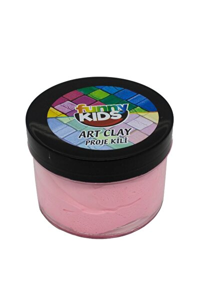 Funny Kids Art Clay Proje Kili 40cc - Pembe