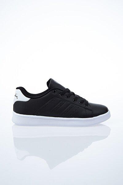 Kadın Günlük Spor Ayakkabı-Siyah-Beyaz PCS-10144