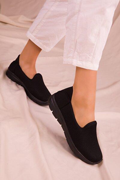 Siyah-Siyah Kadın Sneaker 14825