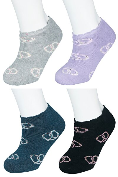 4'lü Termal Havlu Tabanlı Patik Çorap