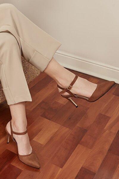 Lucia Taba Bilek Bantlı Topuklu Ayakkabı
