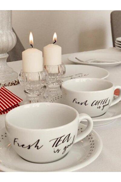 Porselen Fincan Takımı 2'li(Coffee-tea)