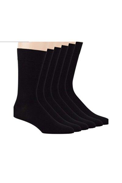 Erkek   Bambu Soket Çorap Siyah 12'li