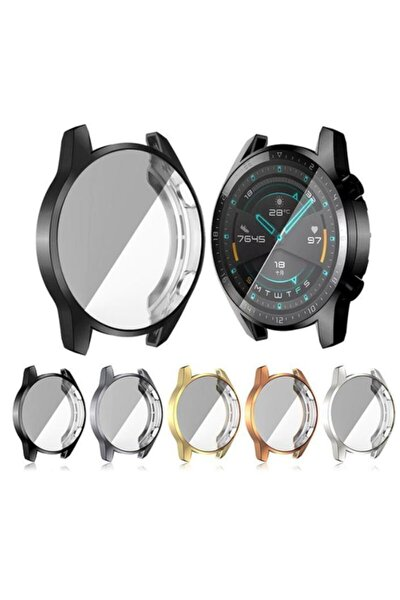 Huawei Watch Gt2 46mm Ekran Koruma Ultra Ince Silikon Kılıf