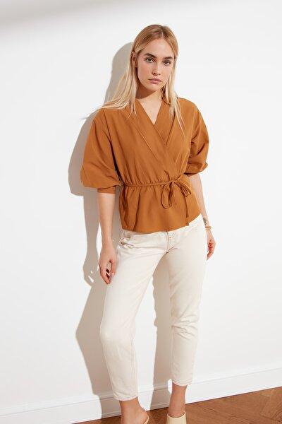 Camel Kruvaze Bluz TWOSS21BZ0287