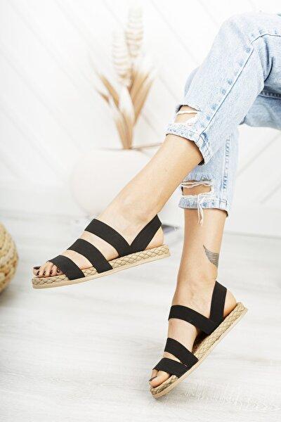 Siyah Kadın Sandalet Dp21-0035
