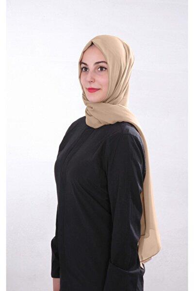 Kadın Bej Şifon Şal