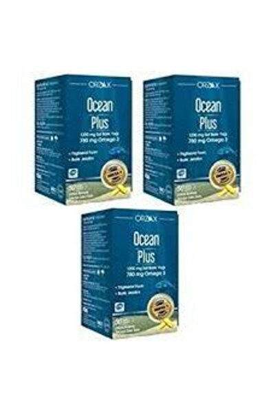 Plus 1200 Mg Omega3 Balık Yağı 50 Kapsül 3 Adet