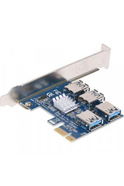 Sl-ex15 Pcı-e To 4xusb3.0 Bitcoin Riser Ekran Kartı Çoklayıcı