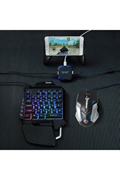 Pubg Oyun Konsolu 3in1-klavye Mouse Bağlayıcı 3 Lü Set Mükemmel Kontrol Pubg Anlaşmalı