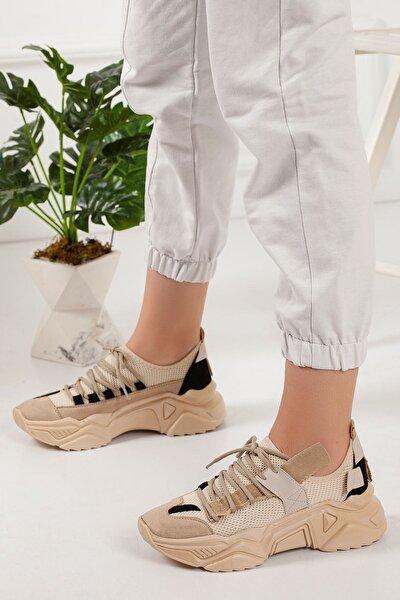 Ten Kadın Sneaker Spor Ayakkabı Ybm-20619