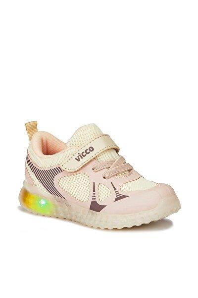 Figo Unisex Bebe Bej Spor Ayakkabı