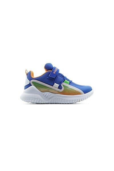 Erkek Çocuk Sax Mavi Cırtlı Sneaker Spor Ayakkabı(26-29) 21y 346.117 Pe