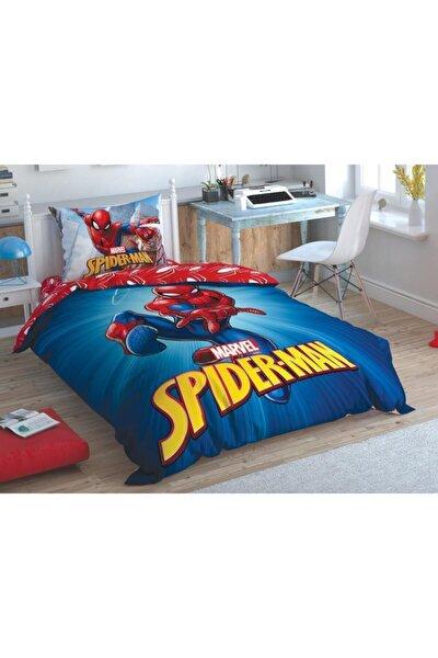 Lisanslı Nevresim Takımı Tek Kişilik Spiderman Time To Move