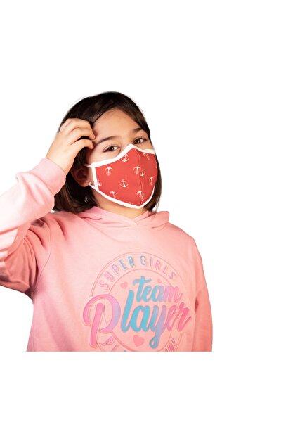 Noclet+ Premium Maksimum Koruma Gümüş Iyonlu Yıkanabilir Maske Çocuk Anchor
