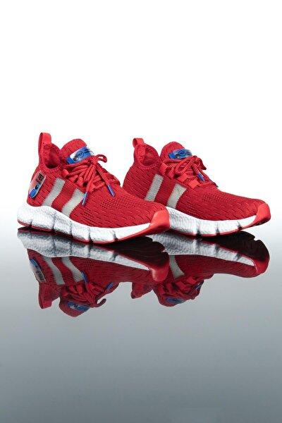 Erkek Kırmızı Spor Ayakkabı Te7