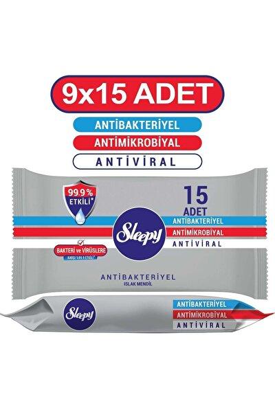 Antibakteriyel Cep Mendili 9x15