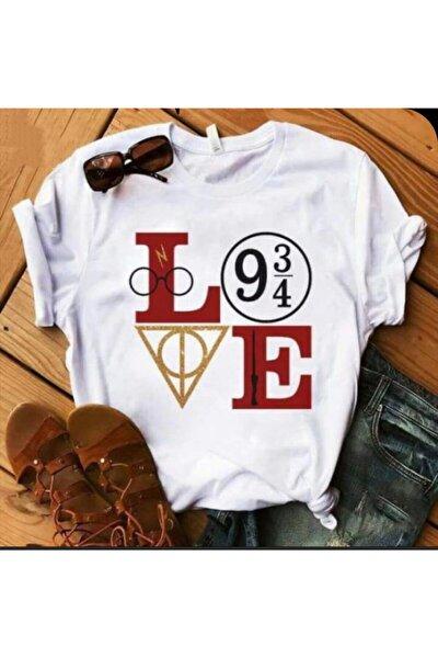 Love Harry Baskılı T-shirt