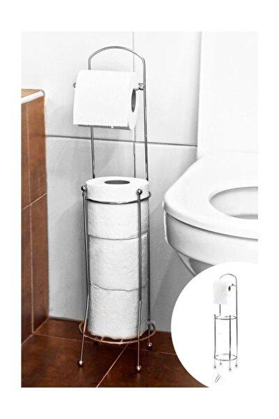 Yedek Haznelı Çelik Tuvalet Kağıtlığı
