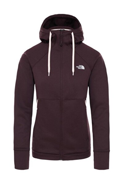 Hikesteller Midlayer Kadın Sweatshirt Bordo