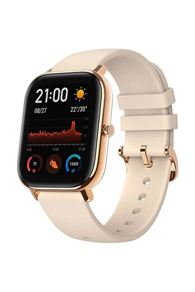 Gts 42mm Amoled Ekran - 5 Atm Suya Dayanıklı Bluetooth Akıllı Saat (Gold)