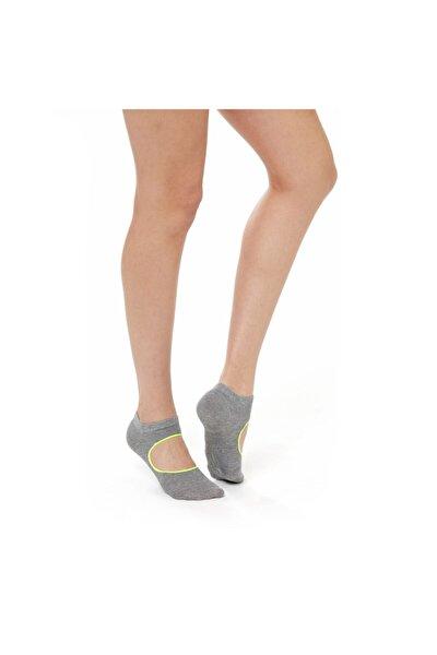 Active Kadın Gri Görünmez Çorap