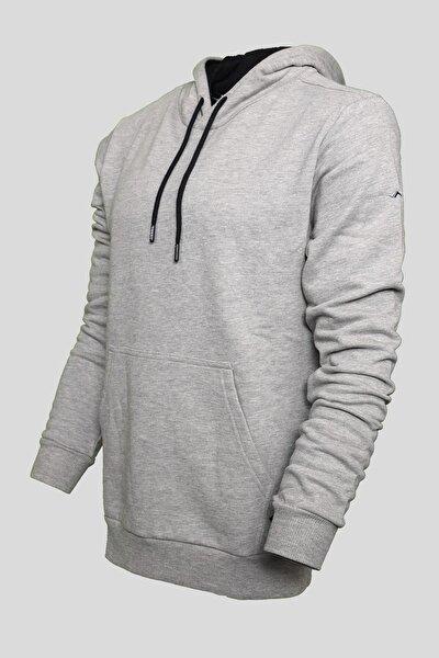 Unisex Grimelanj Kapüşonlu Kanguru Cepli Sweatshirt