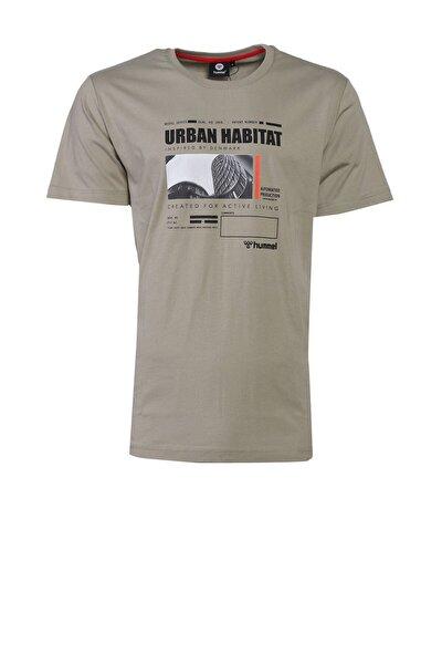 HMLURBAN Gri Erkek T-Shirt 101085878