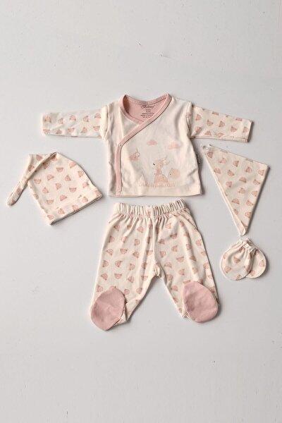 Kız Bebek 5'li Hastane Çıkış Seti