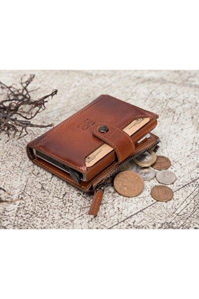 Deri Kartlık-cüzdan Rfıd Rst2ef Taba