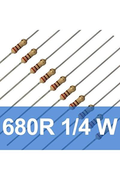 680r 1/4w Direnç (10 Adet) 680 Ohm