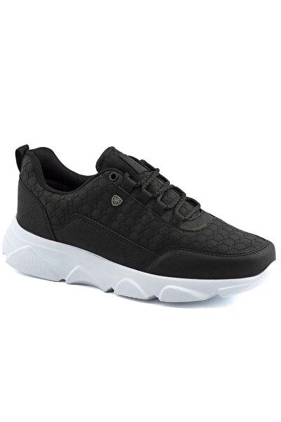 005 Siyah Beyaz Erkek Spor Ayakkabı