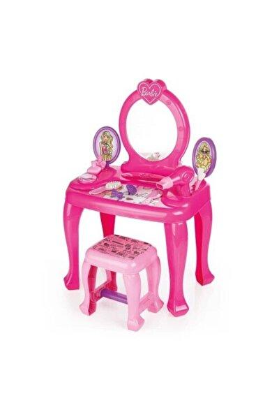 Barbie Ayaklı Makyaj Masası Ve Sandalye Seti