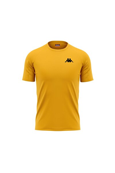 Erkek Sarı Poly Bux T-shirt