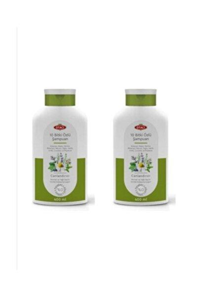 10 Bitki Özlü Şampuan 400 Ml. 2i Set