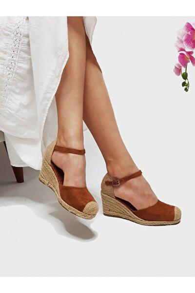 Julian Taba Renkli, Hasır Dolgu Kadın Ayakkabısı