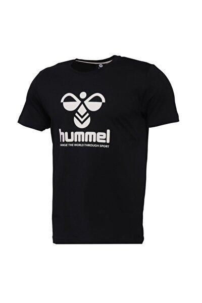 HMLCENTIL T-SHIRT S/S Siyah Erkek T-Shirt 101086297