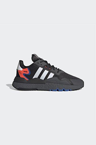 Erkek Siyah Bağcıklı Sneaker