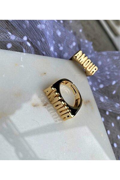 Amour Altın Kaplama Yüzük