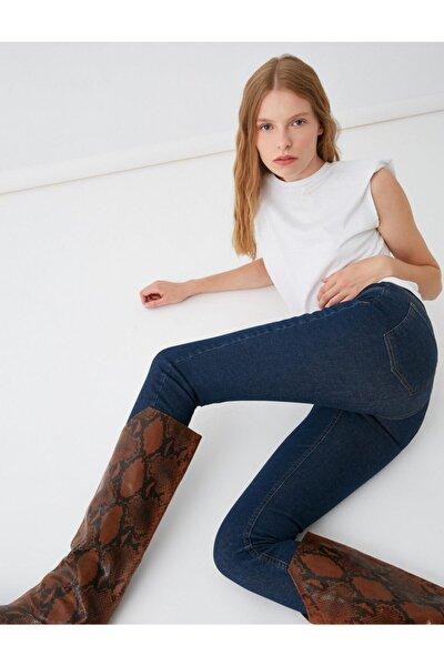 Kadın Koyu Indigo Jeans