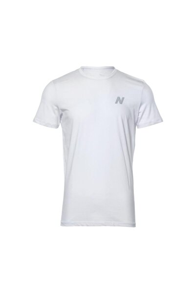 Erkek Beyaz T-shirt Mpt028-wt